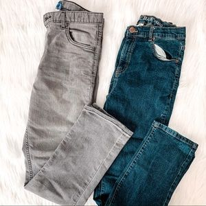 2 Pair of Boys Straight Fit Jeans